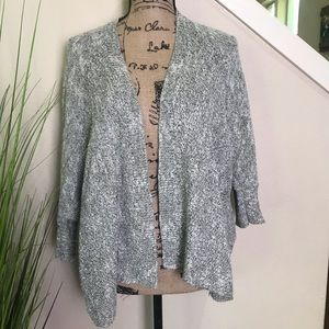 Comfy cardigan from Maurice's in gray